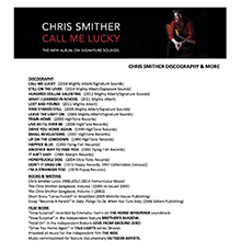 Chris Smither Discography 2018