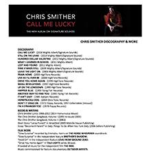 Chris Smither Discography 2018